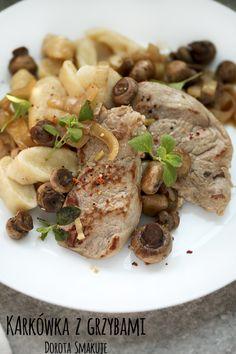 Karkówka z grzybami Risotto, Ethnic Recipes, Food, Meals
