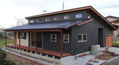 Japanese Architecture, Architecture Design, Storage Container Homes, Eco Friendly House, Loft Style, Modular Homes, Shed, Farmhouse, Exterior