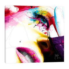 "JaxsonRea ""Sensual Colors"" by Patrice Murciano Graphic Art on Wrapped Canvas Size:"