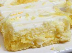 Fantastic Lemon Bars - Cassies