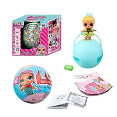 LOL Surprise Dolls, Malltop Lets Be Friends Series Balls Gift Set Bundle of Lil Outrageous Littles and Her Sister from Series 1 Seven and three layers of surprises inside. Add water for last surprise. Dolls with Mix & Match Accessories. Material: Plastic. Package included: 1*LOL Surprise L.O.L. Dolls Lets Be Friends Series 1Balls. New In Box!