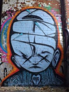 """Fiona Ferret graffiti """"Mars   2014   This is fucking dope! I dig this!"""