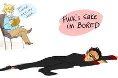 Crowley, you swanky dork baby, get up off the floor.