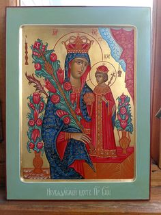 icon handmade from Russia