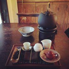"Taiwanese tearoom ""小慢 Xiǎomàn"" near Shida Rd., Taipei. Really relaxing and can enjoy traditional tea service. #cafe #taipei #taiwan #tea"