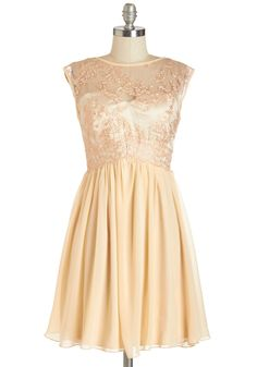 Peaches and Dreamy Dress, #ModCloth