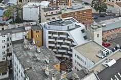Business centrum Wallenrod_Architekti Šebo Lichý_Bratislava, Slovensko Fotograf: Ľubo Stacho