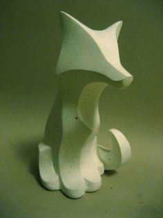 Sculpture Sculpture - Plainer Fox by Adam Strong