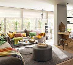 53 m2 llenos de ingenio · ElMueble.com · Casas Unique Furniture, Outdoor Furniture Sets, Nook Architects, Best Interior, Interior Design, Dream Decor, Cool Rooms, Small Apartments, Apartment Living