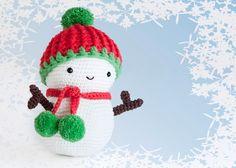 Amigurumi muñeco de nieve                                                       …