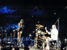 @ adamlambert & @OfficialRMT #singing in #Sydney with #Queen