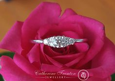 Hearts on Fire Diamond Felicity Queen Anne Engagement/Dress Ring White Gold Engagement Dresses, Engagement Rings, Fine Jewelry, Jewellery, Fire Heart, Dress Rings, Queen Anne, Bvlgari, Luxury Jewelry
