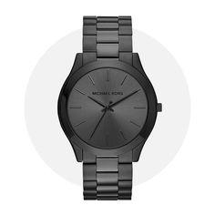 Michael Kors Slim Runway Black Mk8507 Michael Kors Watch, All Black, Monochrome, Runway, Slim, Watches, Friends, Accessories, Fashion