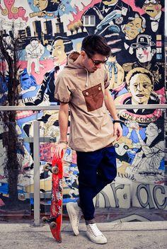 Rebel fashion style: Urban style