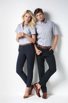 KK109 (Men's) and KK701 (Women's) Corporate Oxford Shirt