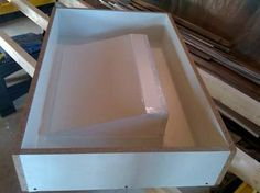 how to make a mold for a concrete sink - Google Search