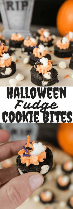 Halloween Fudge Cook