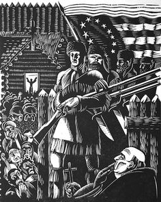 History of Illinois in Woodcuts, Charles Turzak   Modernism in the New City: Chicago Artists, 1920-1950