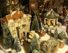Christmas Village 2009:  D56 Dickens Village  Patty Smoot