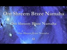 ▶ Om Shreem Brzee Namaha - 108 Times - YouTube