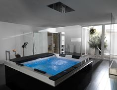 Exclusive Luxurious Bathtubs For Two Persons With Spa Home Design - pictures, photos, images