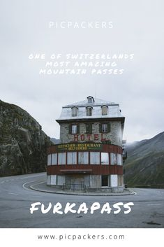 Furkapass - One of Switzerlands most amazing mountain passes Mountain Pass, Restaurant, Getting Out, Switzerland, Abandoned, Places To Go, Europe, Posts, Amazing