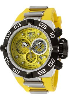 Price:$399.00 #watches Invicta 11509, With a bold, masculine design, Invicta chronograph has a poised and calm ambience that's sure to have you looking twice.