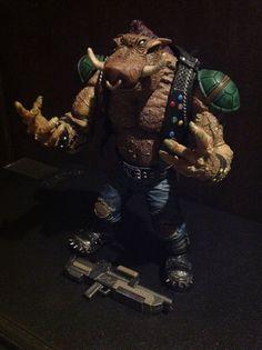 Bebop (Teenage Mutant Ninja Turtles) Custom Action Figure