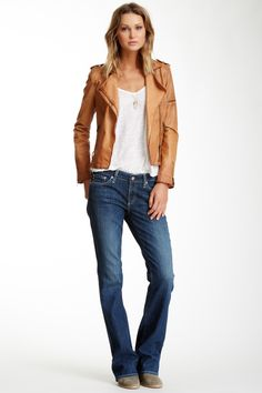 AG Jessie Curvy Bootcut Jean by AG on @HauteLook