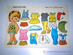recortable muñecas boga nº 520 mary carmen, exc - Comprar ...