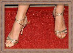 Manolo Blahnik Strappy Sandals - Connie Britton