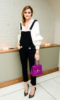 Thanks to Olivia Palermo, we've got some serious overalls inspiration.