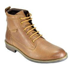 Valentino Genuine Leather TORQUE86TAN Men Formal Shoes