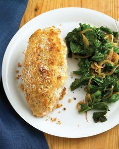 Pecorino-Crusted Chicken - Martha Stewart Recipes