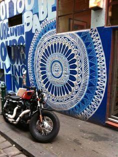 Hosier Lane, Melbourne City, Australia