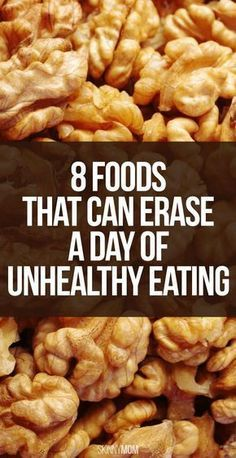 8 Foods that Can Erase a Day of Unhealthy Eating!   From @womanista
