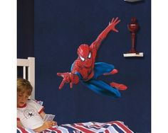 Spiderman Wall Decal, Buy Online India Cheap