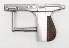 "peashooter85: ""Rare and unusual Brun Latrige repeating pistol, circa 1900. """