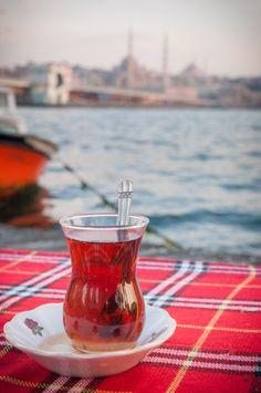 Turkish tea - Istanbul-Turkey