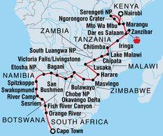 Epic African honeymoon!