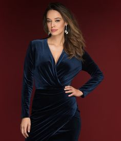 Cum porti rochia din catifea: idei de zi si de seara Wrap Dress, Shopping, Dresses, Fashion, Vestidos, Moda, Fashion Styles, Dress, Fashion Illustrations