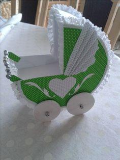 Kinderwagen aus Papier-Ideal für kleines Geschenke