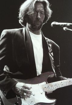 jwclapton:  Eric Clapton, Los Angeles, 1990. (Credit: Jeffrey Mayer)
