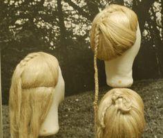 Iron Age Fashion/ Hairstyle/ Frisurer i Jernalderen