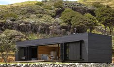 Off-Grid Storm Cottage is a Solar-Powered Timber Box on New Zealand's Great Barrier Island | Inhabitat - Sustainable Design Innovation, Eco Architecture, Green Building