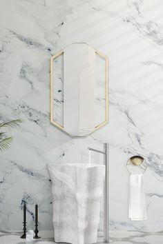 Questo bellissimo pezzo di forma irregolare è scolpito dalla migliore selezione di marmo là fuori! Quando cerchi lelemento perfetto per distinguere il tuo progetto di bagno, il freestanding Eden Stone è unopzione unica e stellare!