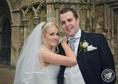 Bride and groom shots www.lilyfernephotography.co.uk #church #weddings #lilyfernephotography #cathedralveil