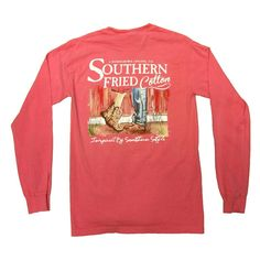 Southern Fried Cotton First Kiss Longsleeve T- Shirt
