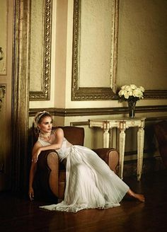 VOGUE MAGAZINE Natalie Portman in Spread Her Wings by Peter Lindbergh.