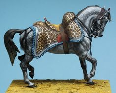 French general's horse